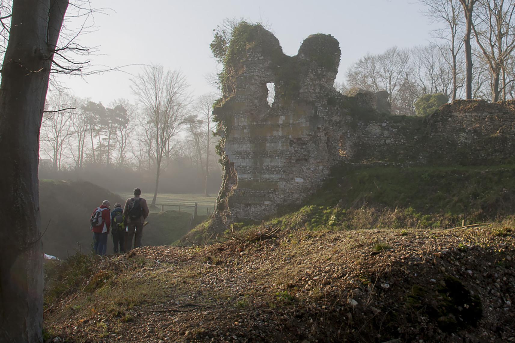 Héritage Médiéval Château médiéval Montfort sur Risle