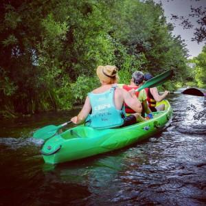 Découvrir la Risle en canoë-kayak