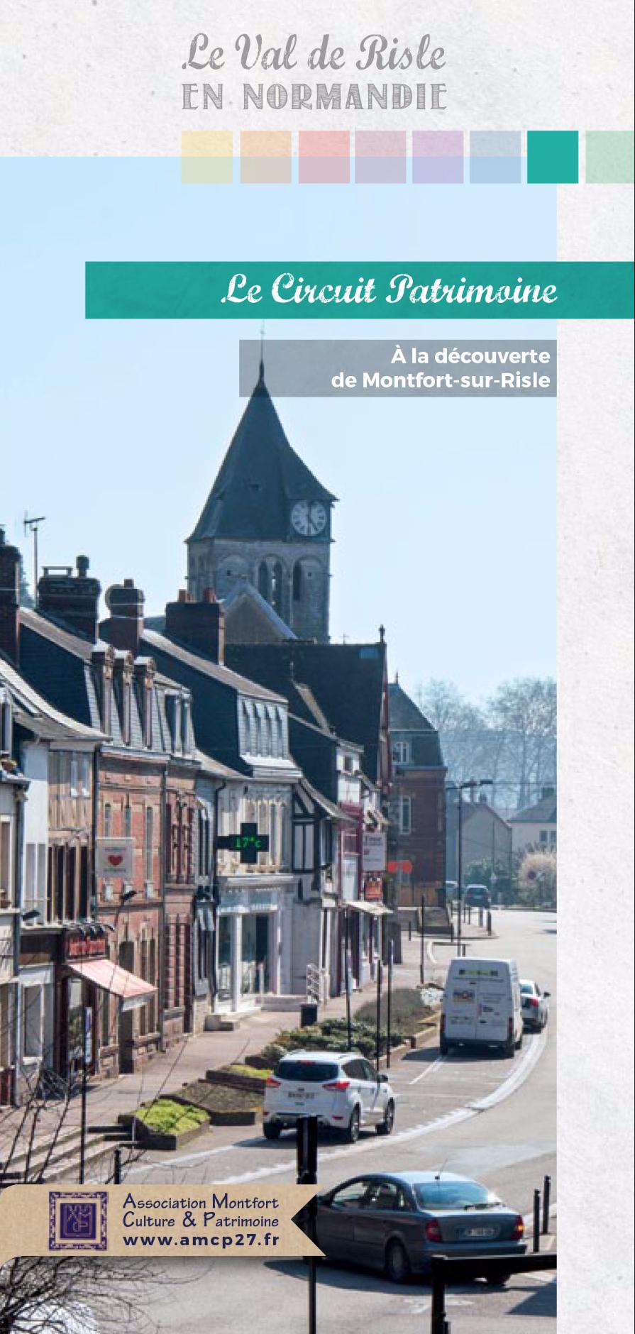 Dépliant circuit patrimoine à Montfort-sur-Risle