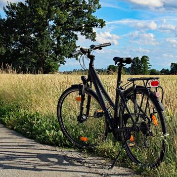 Faire du vélo autour de Pont-Audemer i