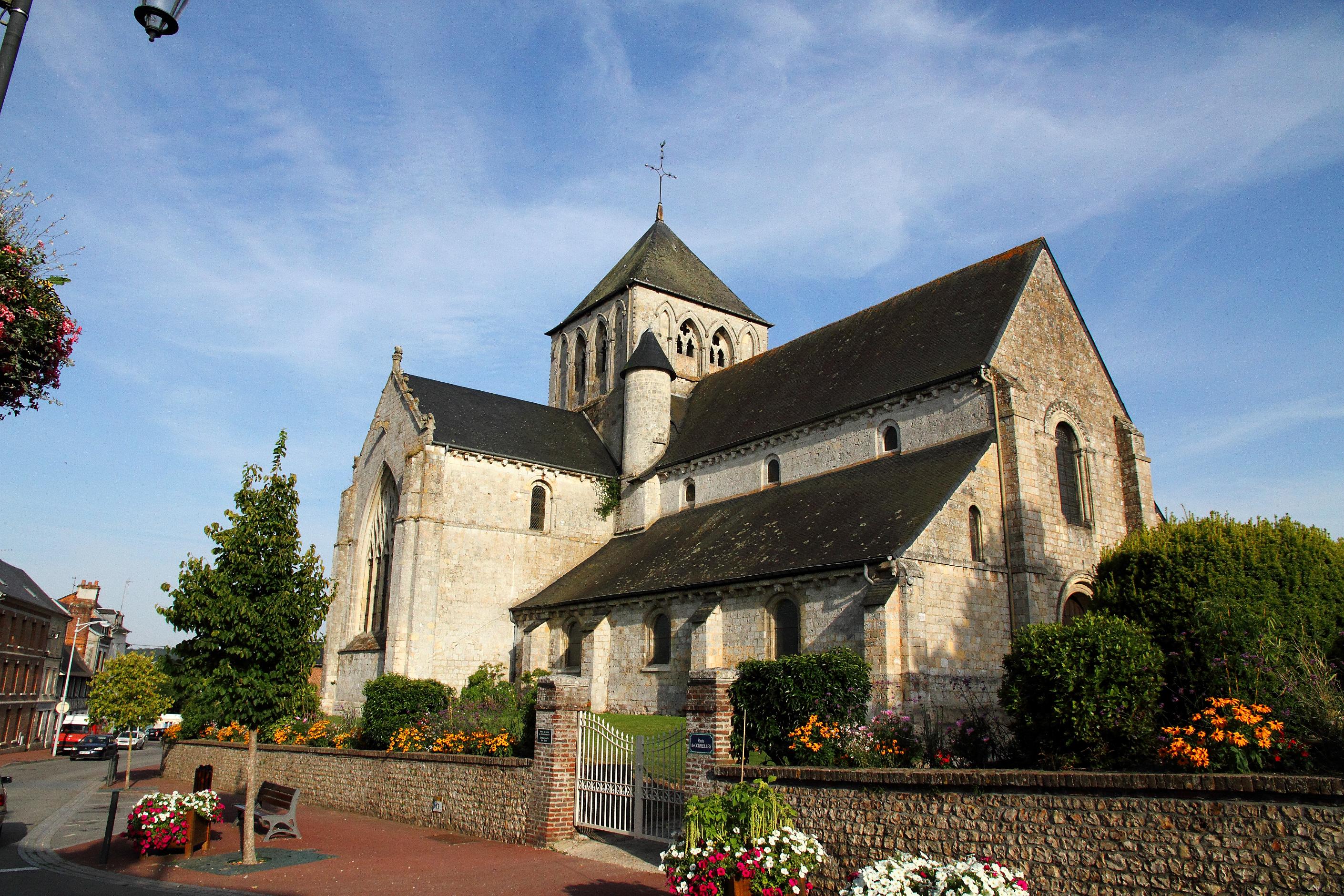 Patrimoine de nos communes L'église Saint-Germain à Pont-Audemer