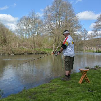 La pêche à Pont-Audemer et dans le Val de Risle en Normandie