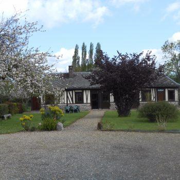 Le Gîte du Verger à Saint-Symphorien près de Pont-Audemer.