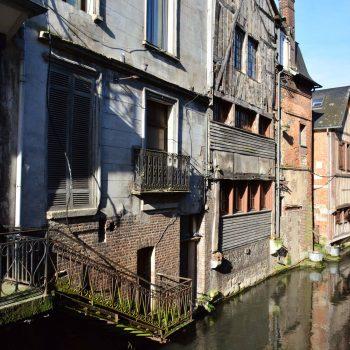 Pont-Audemer petite Venise Normande