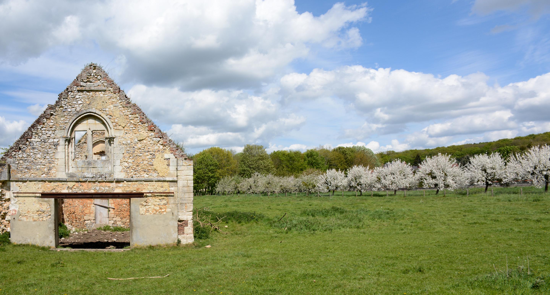 Héritage Médiéval Logis seigneurial Glos-sur-Risle©AsOTVR