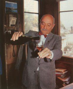 M. Chort Mutel et le Pommeau de Normandie à Pont-Audemer