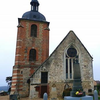 Randonnée à Campigny église