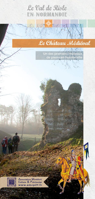 Le château médiéval de Montfort
