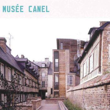 musée canel architecture contemporaine dans Pont-Audemer