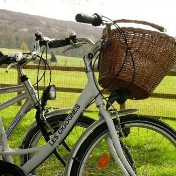 vélo marais vernier